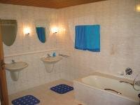 Ferienwohnung großes Bad
